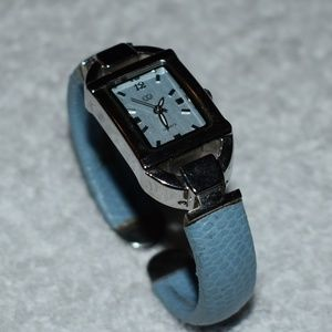 Powder Blue Cuff Watch by CG